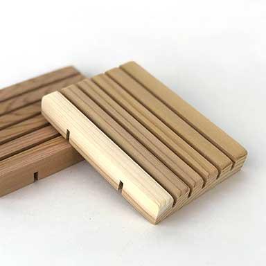 Cedar Soap Block