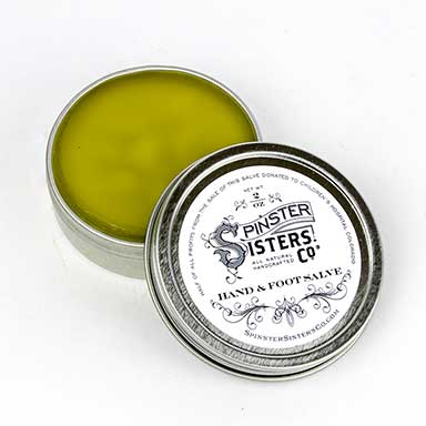 Hand and Foot Salve, 2 oz.