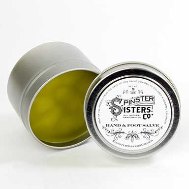 Hand and Foot Salve, 3 oz.