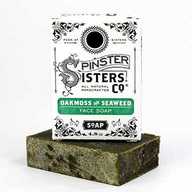 Oakmoss and Seaweed Face Soap