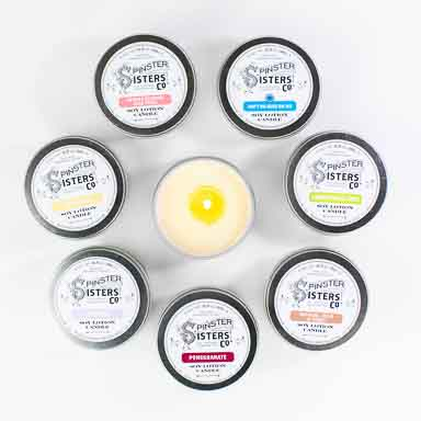 Soy Lotion Candle, 3.5 oz.