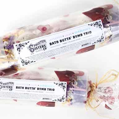 Bath Butta' Bomb Trio