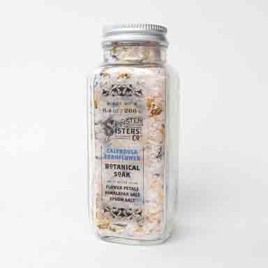 Calendula Cornflower Botanical Soak
