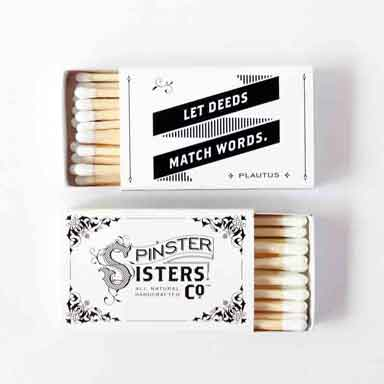 Spinster Sisters Matches