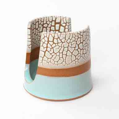 Crackle Soap Stand