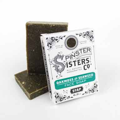 Oakmoss & Seaweed Face Soap Travel Size