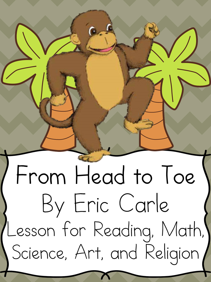 From head to toe worksheets for kindergarten
