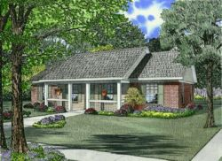 Country Style House Plans Plan: 12-623