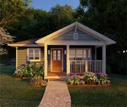 Country Style Home Design Plan: 32-131