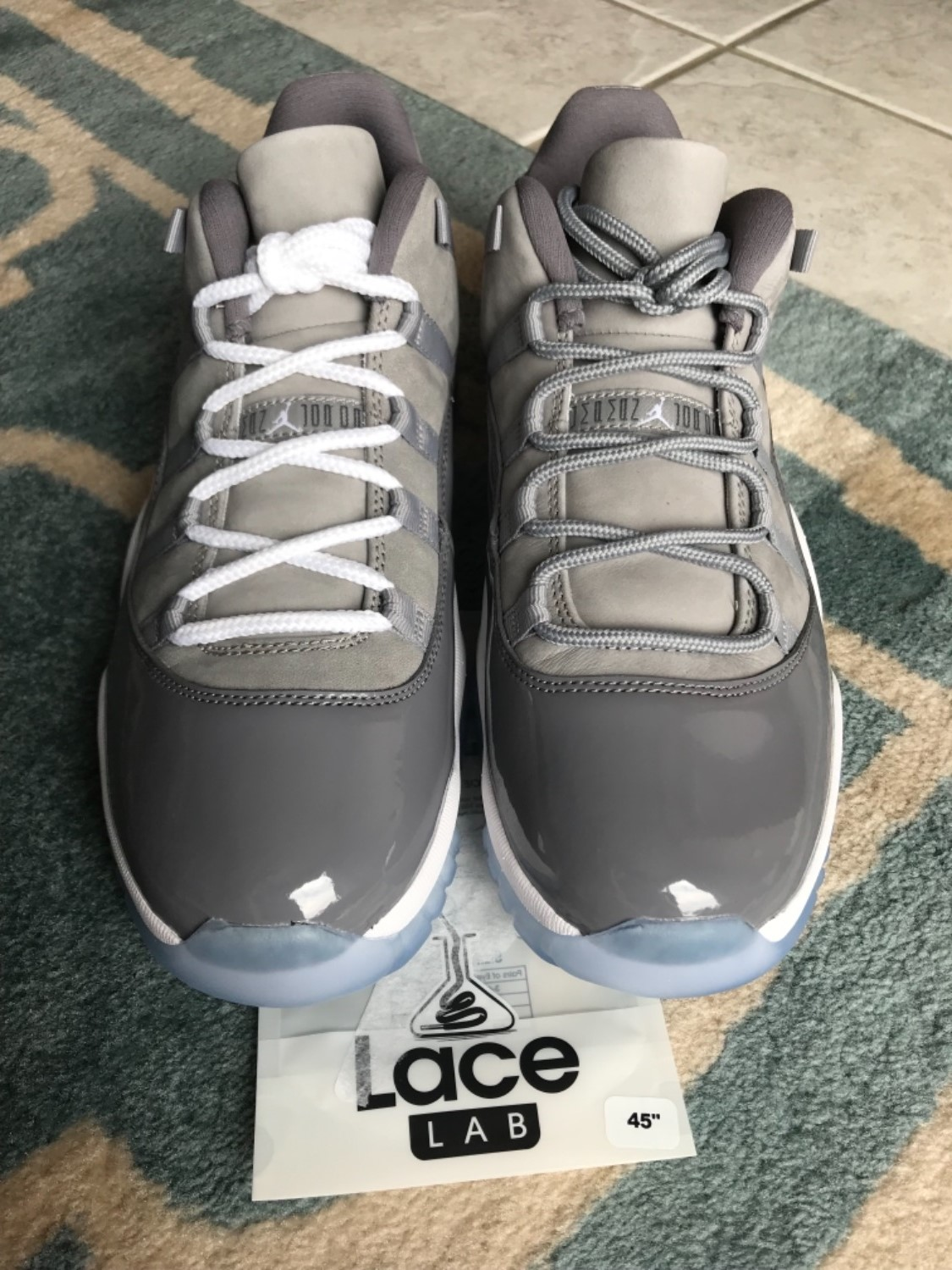 1a8af499045d Adam C. verified customer review of Cool Grey - XI Rope Laces