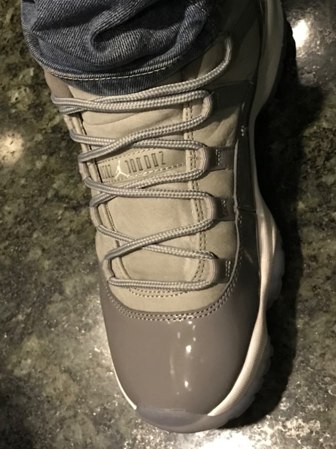 a5bda366334d Darryl R. verified customer review of Cool Grey - XI Rope Laces ...
