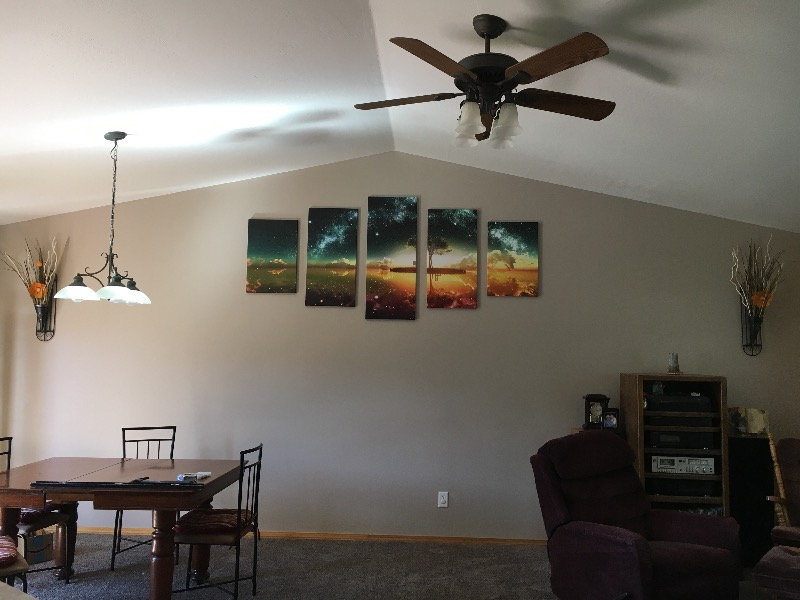 Multi Panel Canvas Wall Art tree under stars multi panel canvas wall art – elephantstock