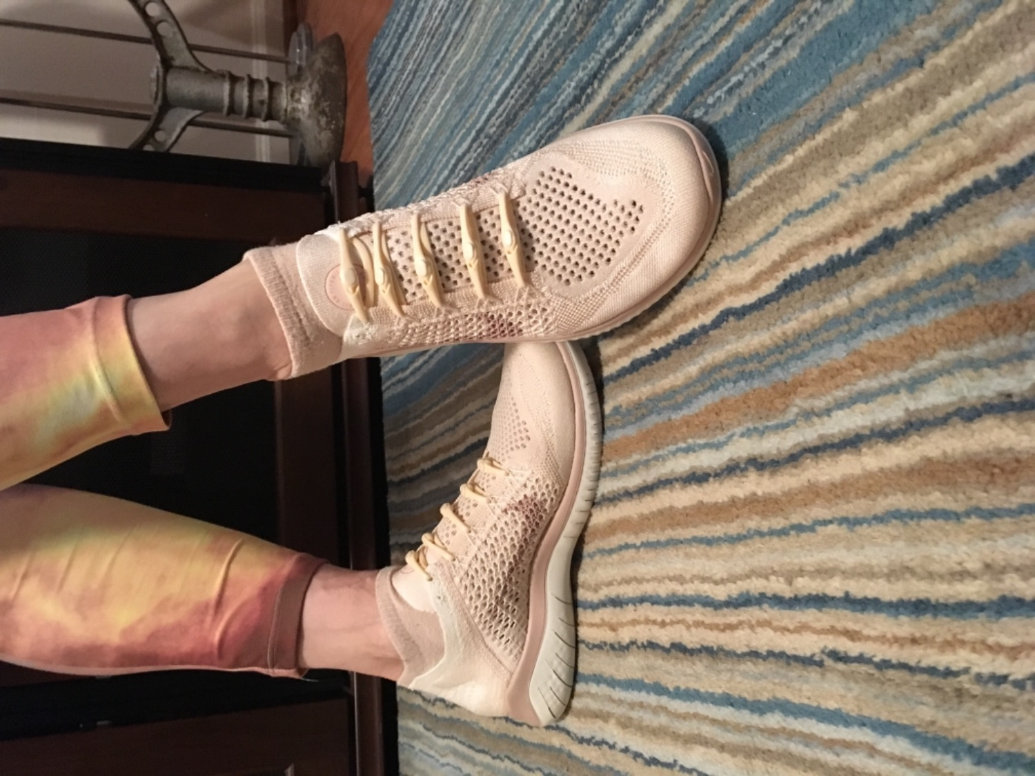 e4979c6983a758 It blends so well with my Nike Free RN Guava Ice Sail Rust Pink Particle  Beige it practically disappears into the shoe- it s almost like not having  ...