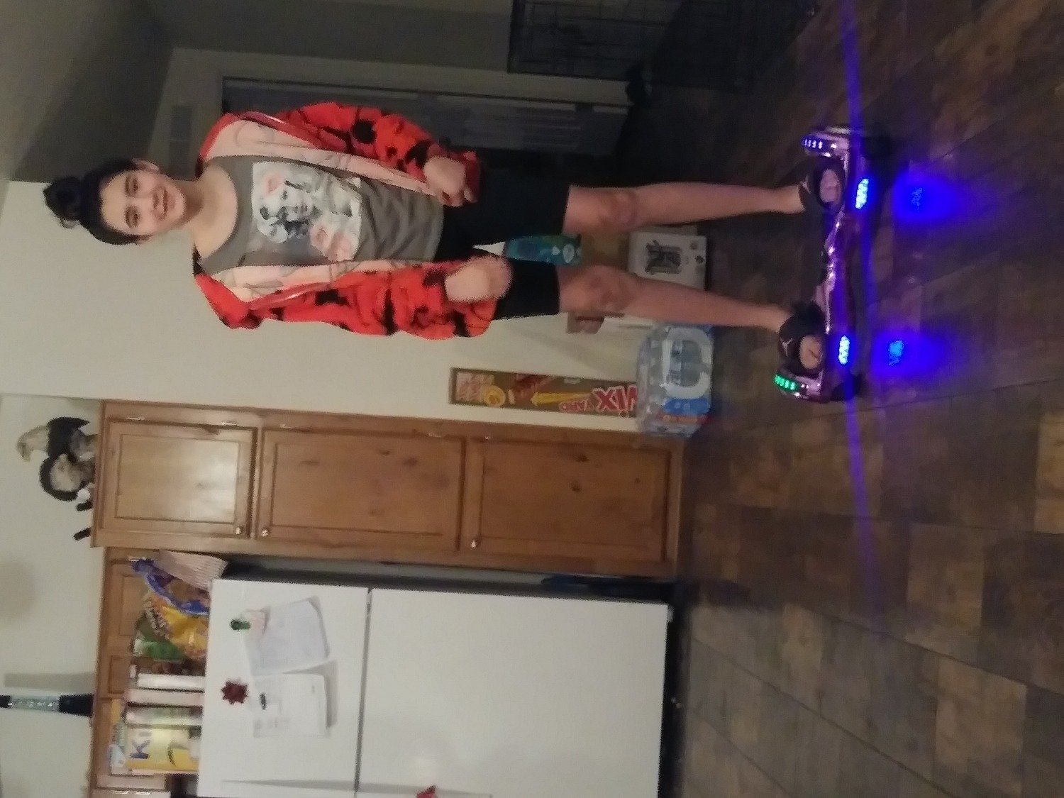 Hoverboard with Bluetooth and LED