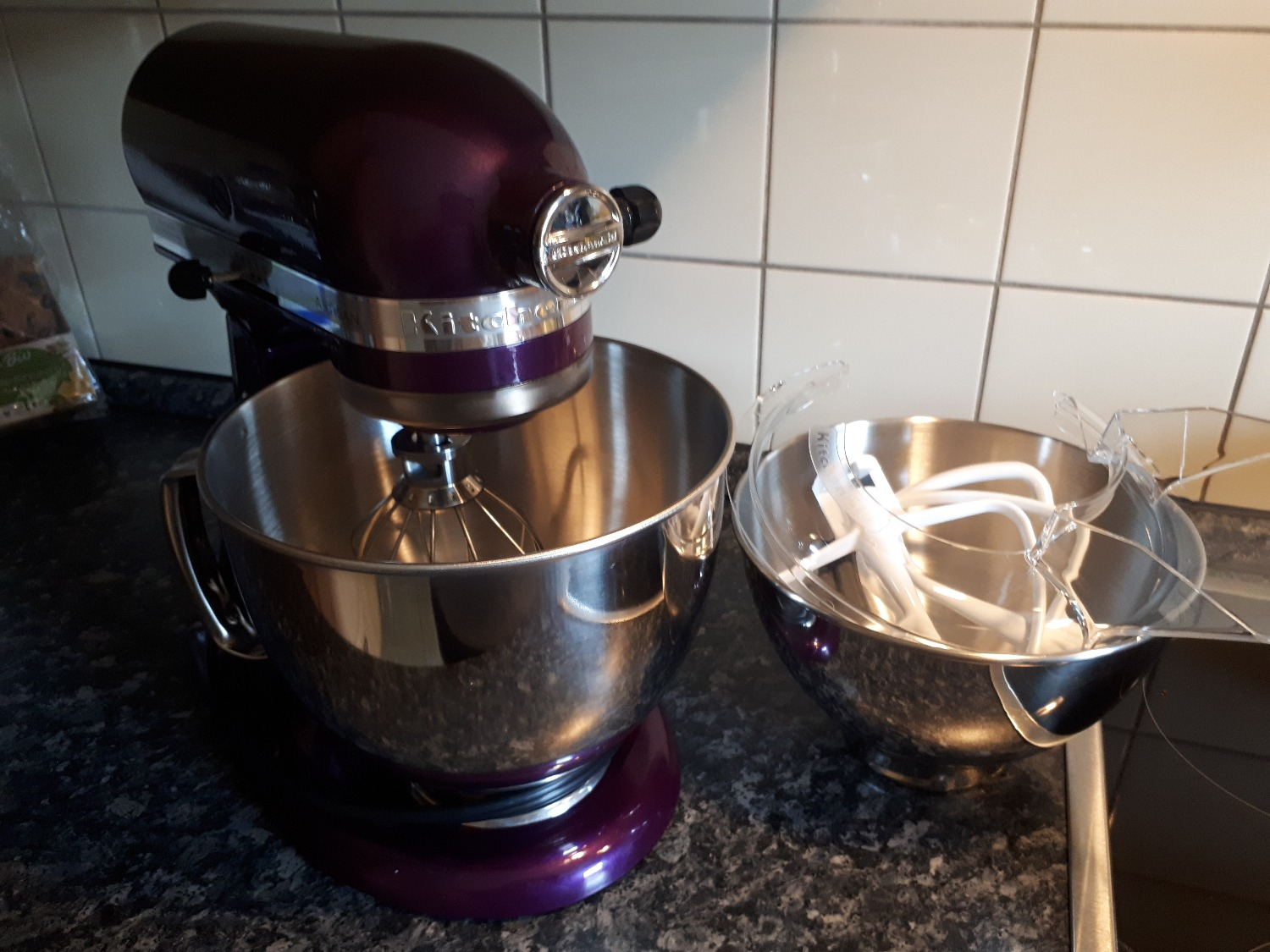 KitchenAid 5KSM175 4,8l Artisan Starterset - Generation YES