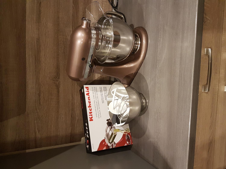 KitchenAid 5KSM175 4,8l Artisan Starterset mit Minifoodprocessor ...