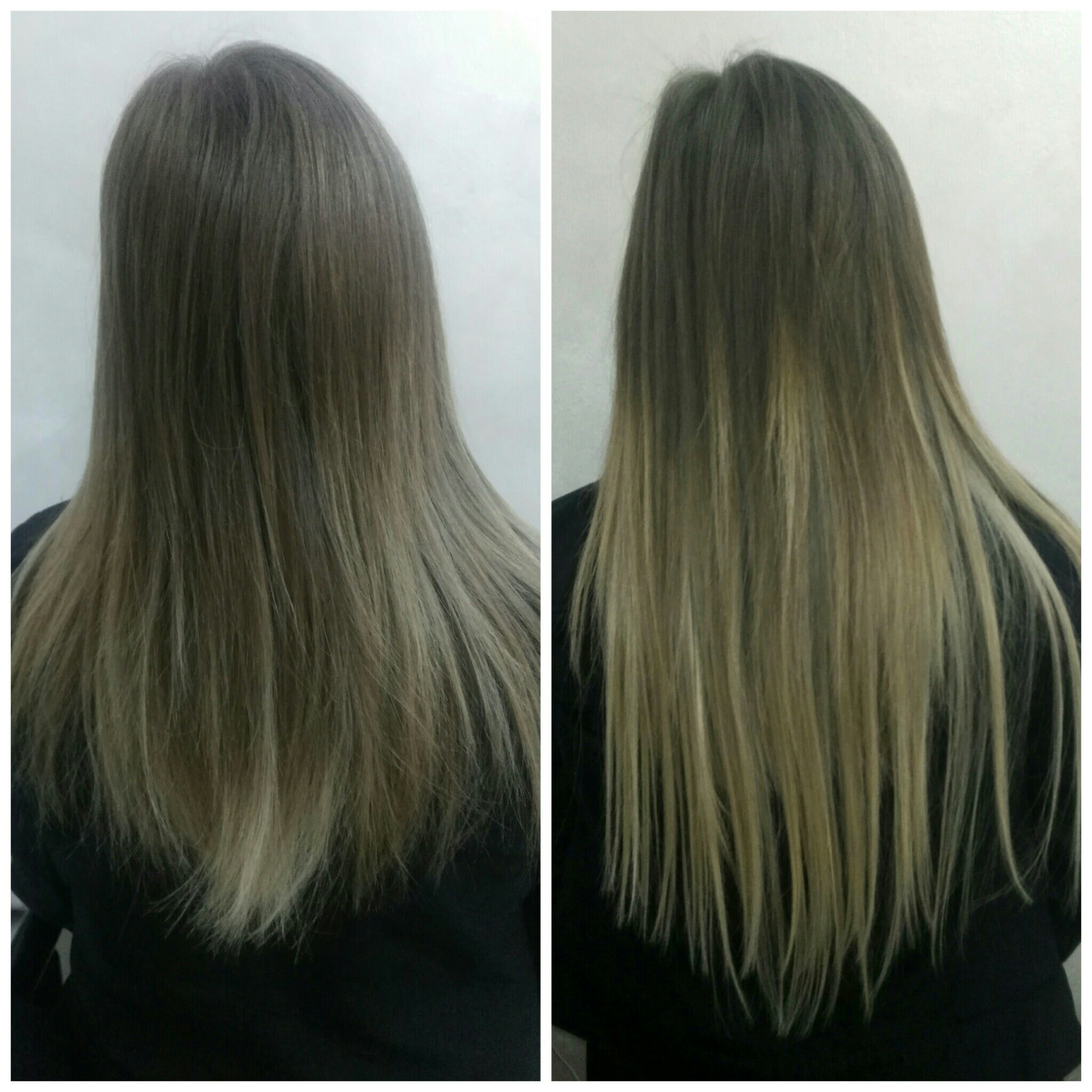 Balayage 860 Silky Straight 130g Clip In Human Hair Extensions
