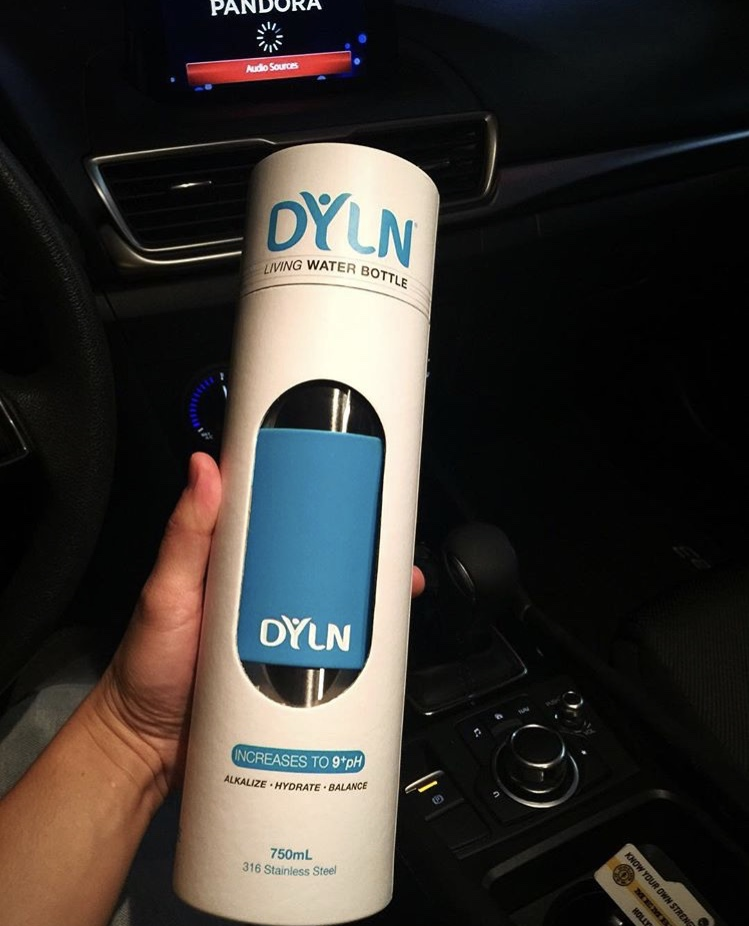 Dyln Living Alkaline Water Bottle Stainless Steel Bottle