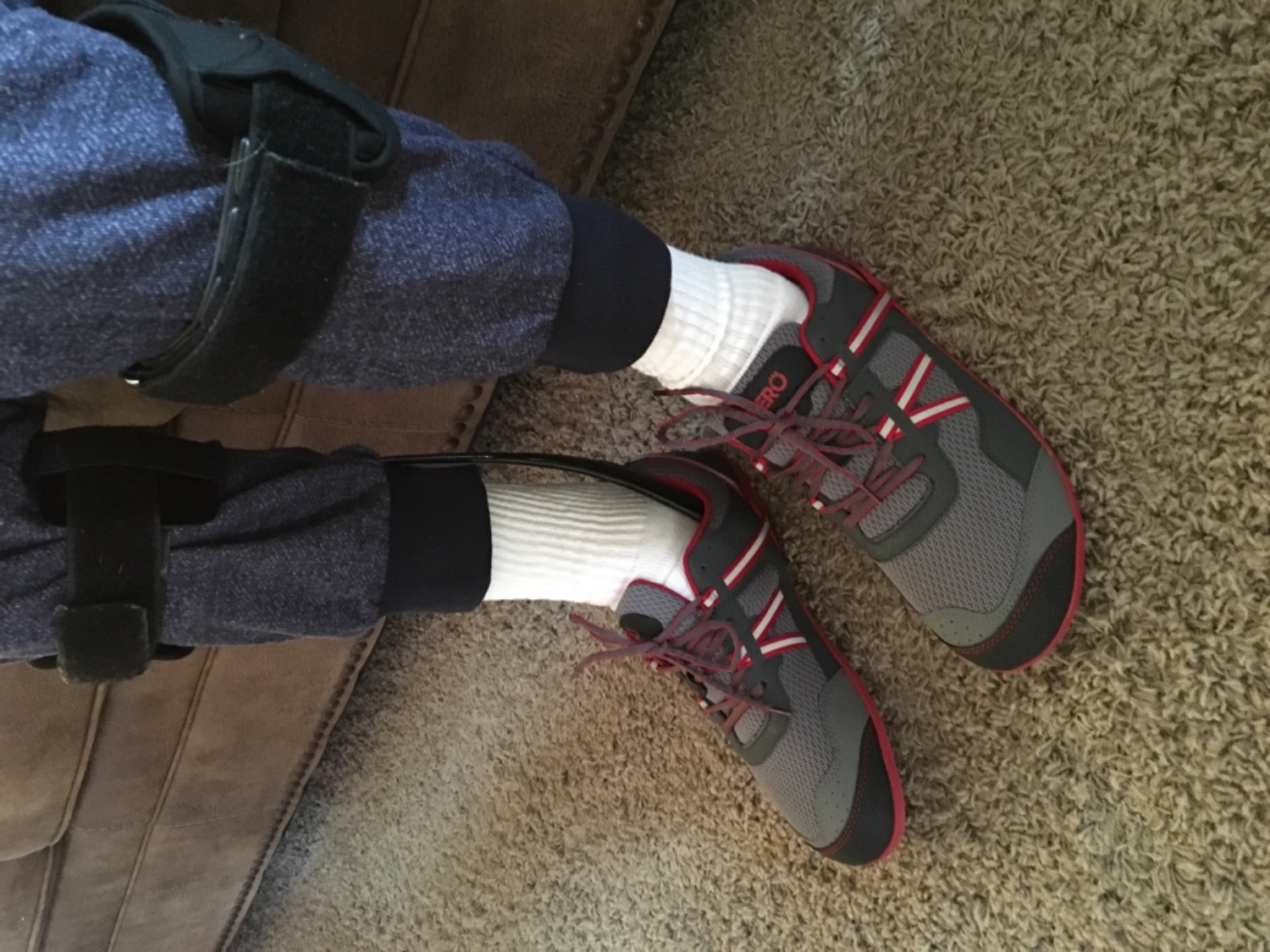 986dccf5fa9 We purchased these shoes for my husband who has ALS and needed a  lightweight shoe that would fit his AFOs We searched all over since he  needed more room for ...