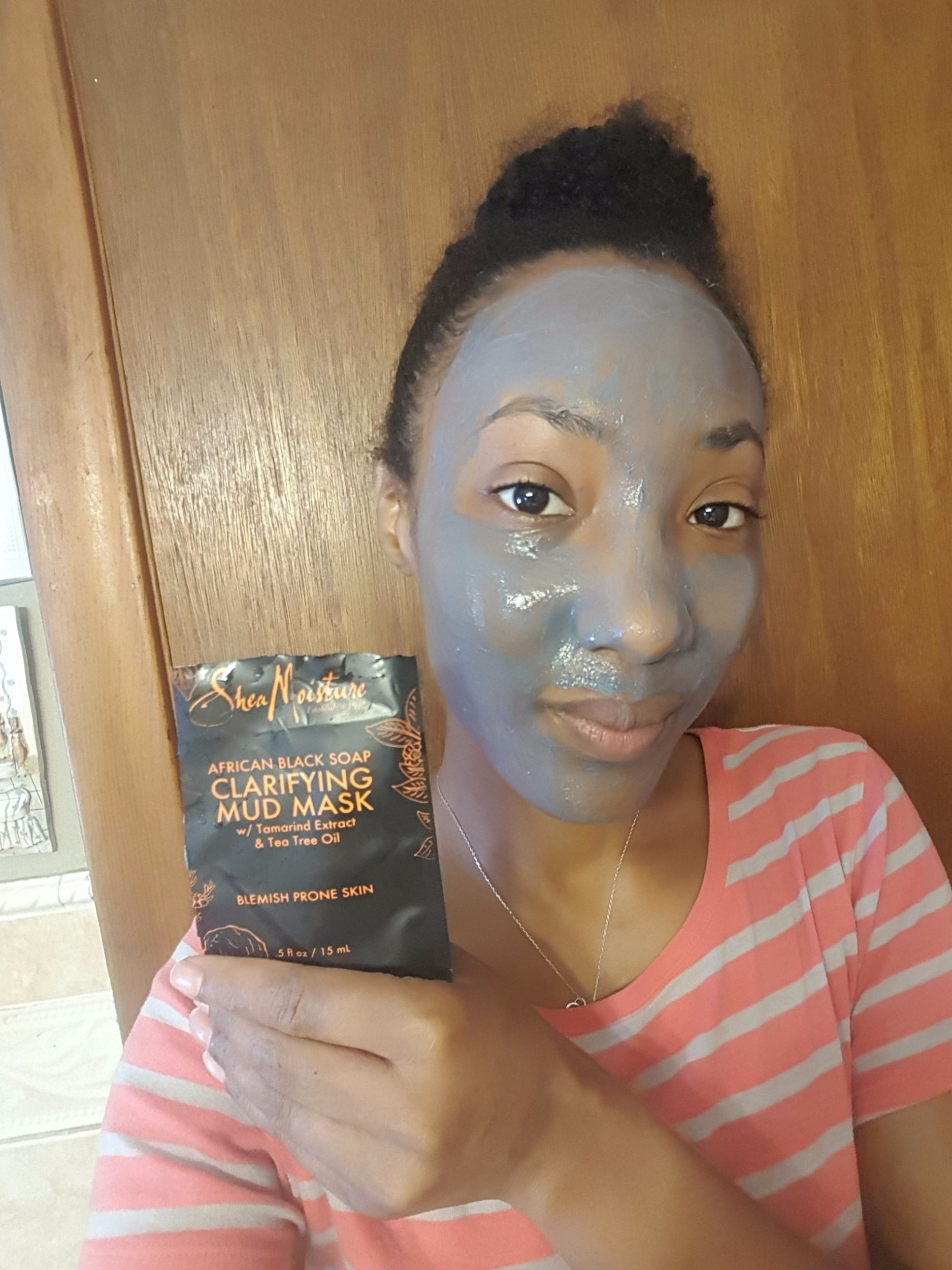African Black Soap Clarifying Mud Mask by SheaMoisture #15