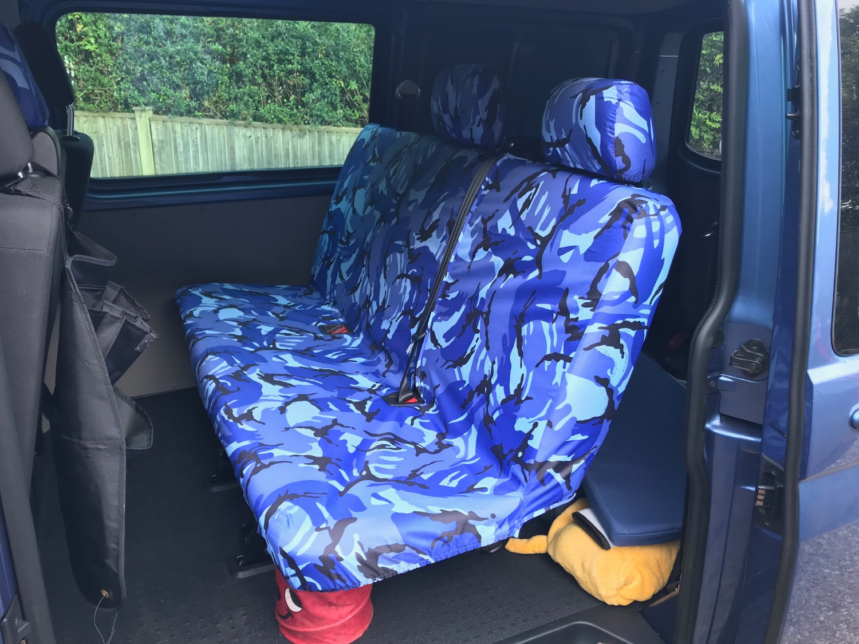 Toyota Auris Full Set GREY TIGER Faux Fur Furry Car Seat Covers