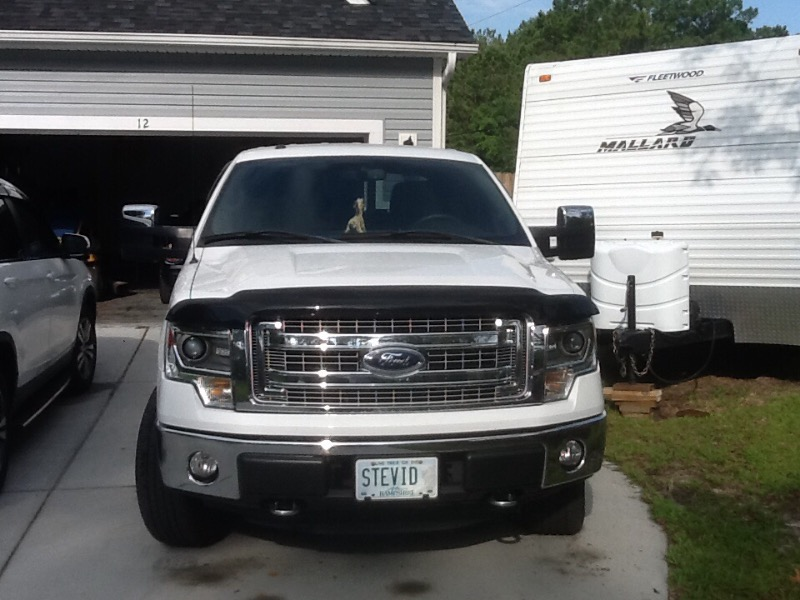 buy a new genuine ford 2008-2014 ford f-150 set of chrome tow mirror
