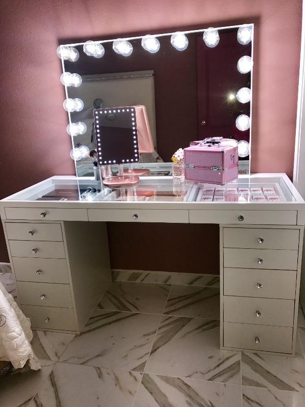 SlayStation 5Drawer Makeup Vanity Storage Unit Impressions