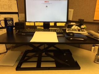 X Elite Pro Xl 36 Standing Desk Converter Stand Steady