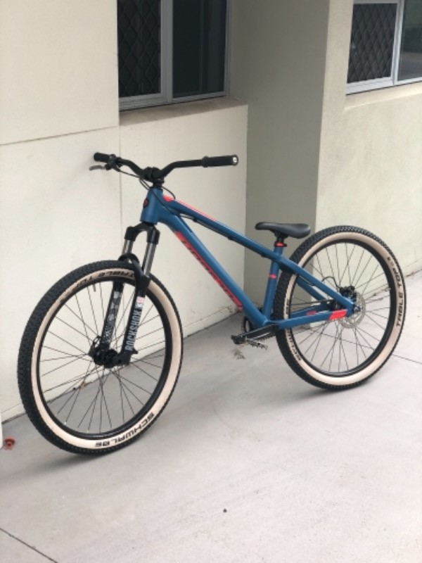 polygon trid dirt jump mountain bike fast shipping