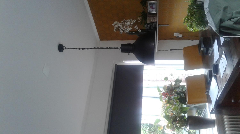 Industriele Hanglamp Keuken : Industriële hanglamp hazel ruig zwart lampgigant