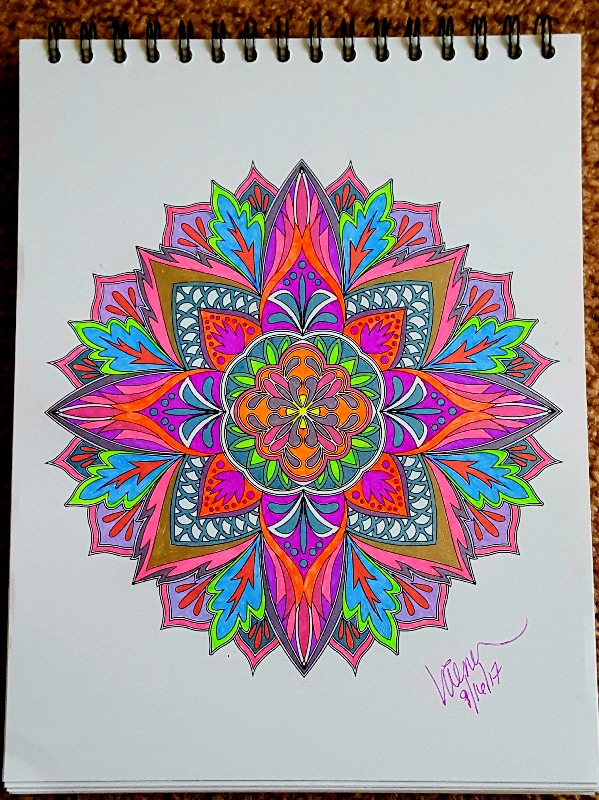 Mandala Coloring Book With Hardback Covers Amp Spiral