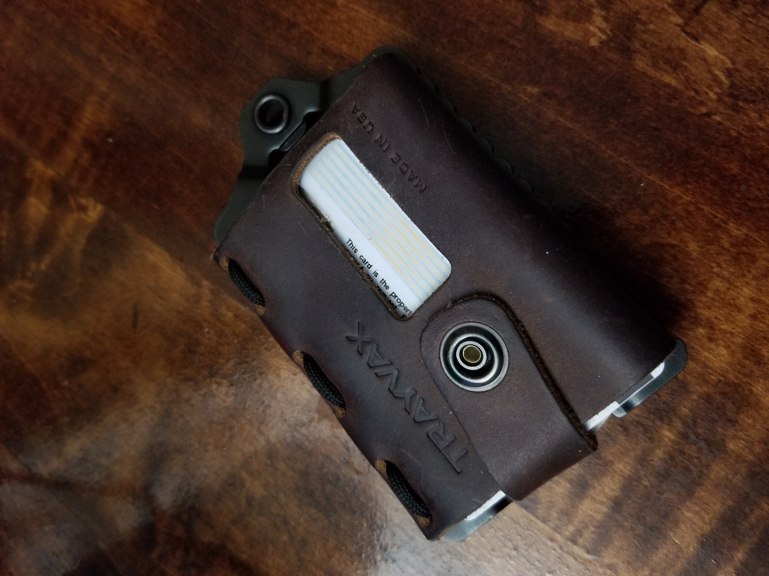 7962c675d9a Best wallet I ve ever bought. My friends also tried it. No complaints at  all. This wallet is sturdy and slim about the size of a credit card. I  recommend.