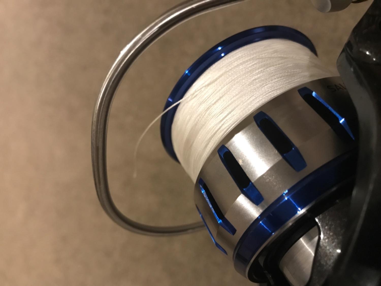 NEW Tasline Elite White Braid 20lb 300m from Blue Bottle Marine