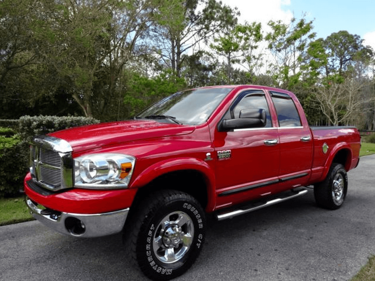 Trueedge street fender flares for 00 09 dodge ram available factory painted flz109203