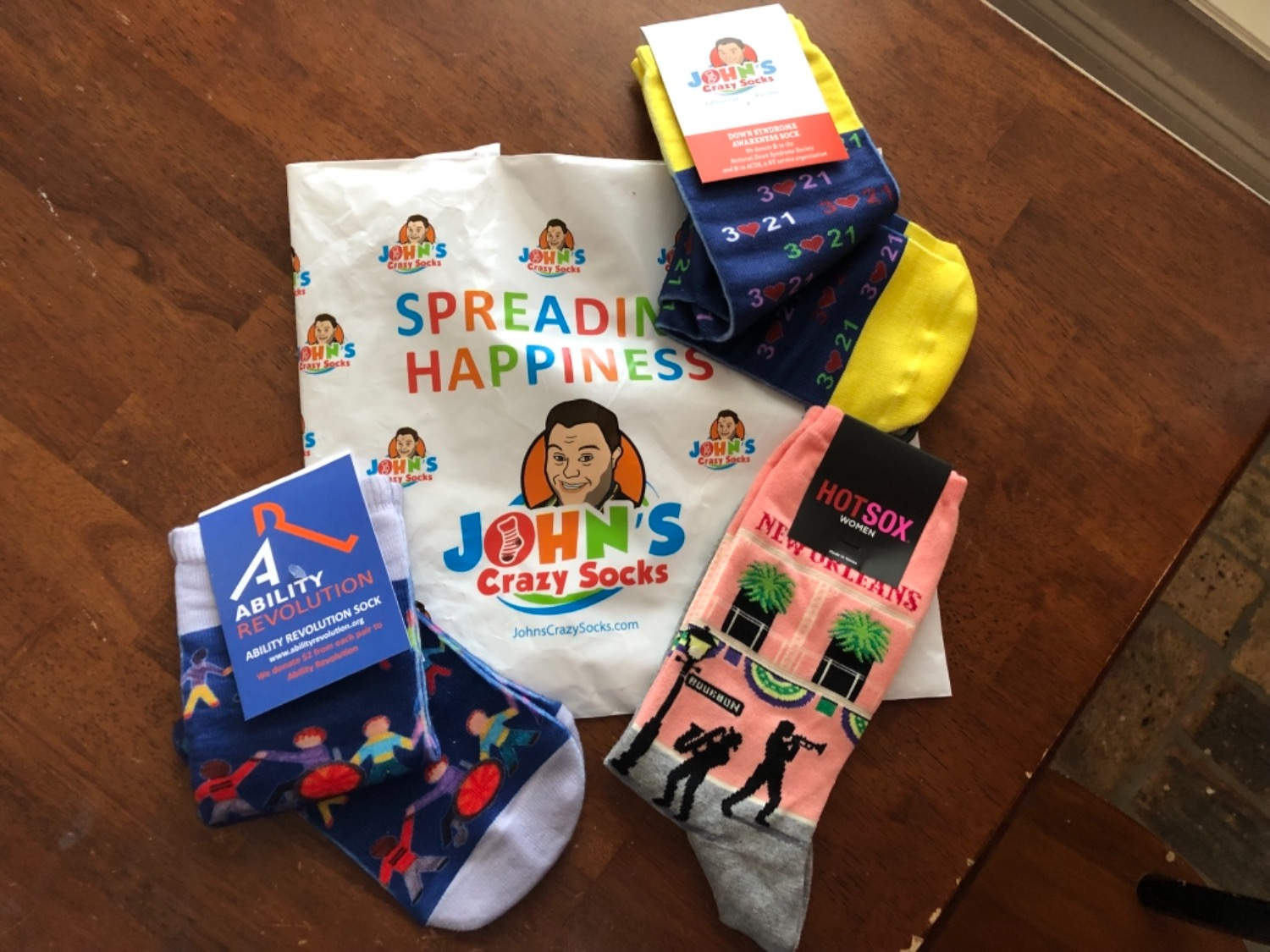 36f40f1a49f49 I love my awareness socks!! I have a sensitive ankle and they are not too  tight. My socks came in really quickly. I had a large enough purchase to  get free ...