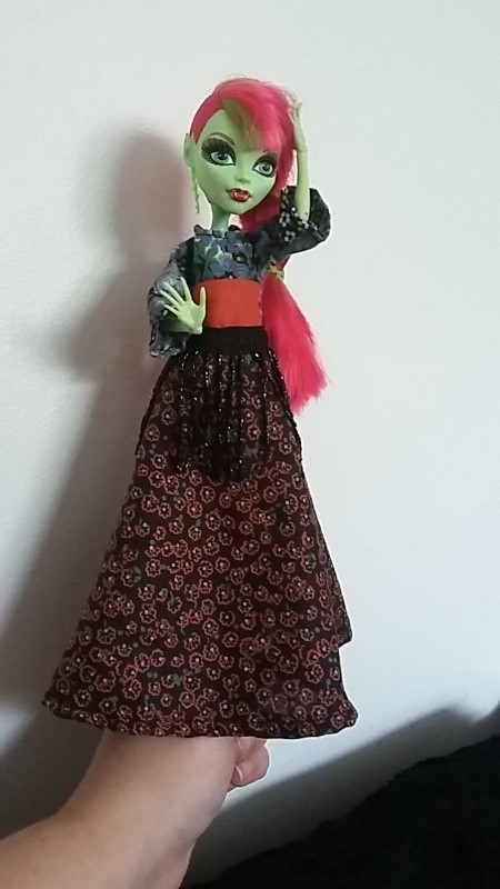 f1fae78a775 Doll Dress Patterns Monster High.How To Make A Doll Dress Long ...