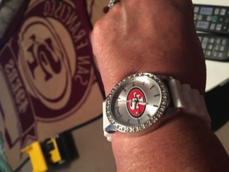 c5a5abc4 San Francisco 49ers Ladies Frost Watch