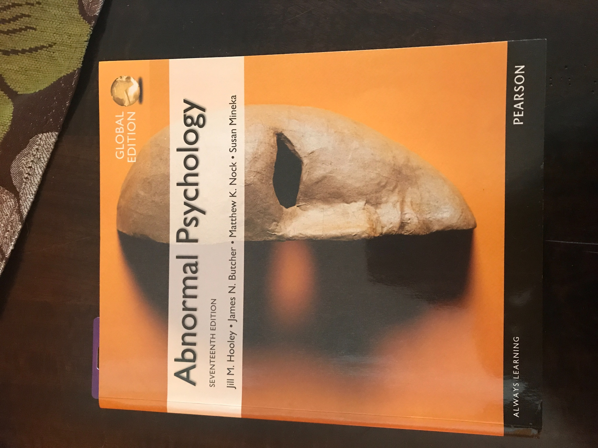 Abnormal psychology 14th edition solution manual abnormal psychology 10th edition kring array 9780133852059 abnormal psychology 17th edition jill m hooley rh prioritytextbook com fandeluxe Choice Image