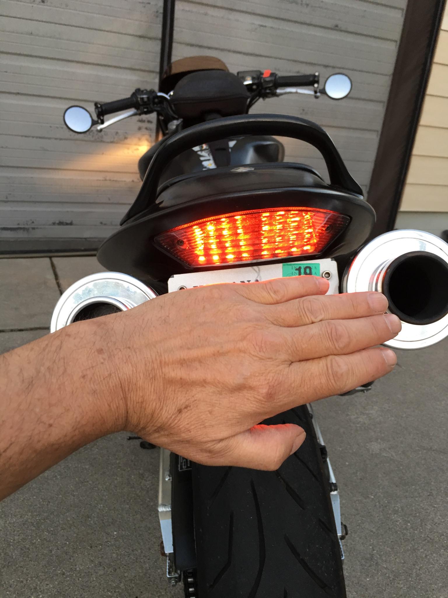 2002 2007 Honda 599 919 Hornet Blaster X Integrated Tail Light Flashing Led Circuit P Marian Flashers I