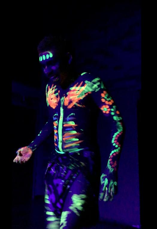 Remarkable Uv Glow Neon Black Light Face Body Paint Set Colours Artistic Den 15Ml 5L Quantity Home Remodeling Inspirations Genioncuboardxyz