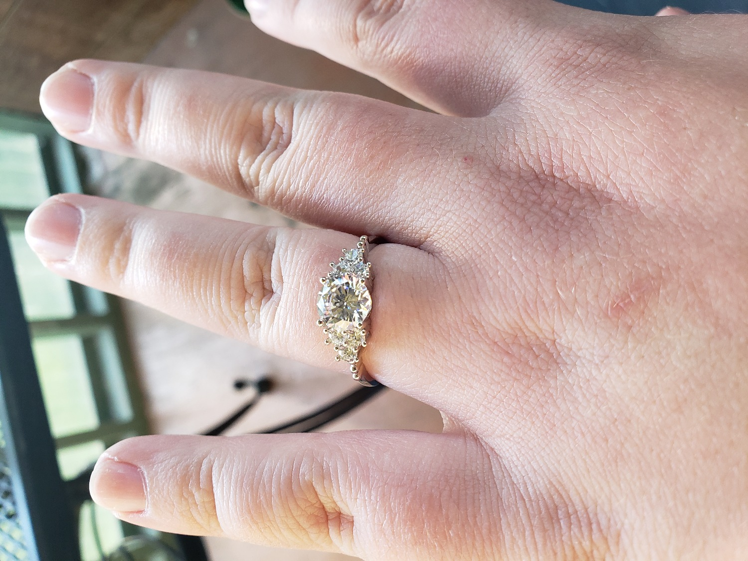 Shared Prong Engagement Ring | Budget Wedding Rings - Modern Gents ...