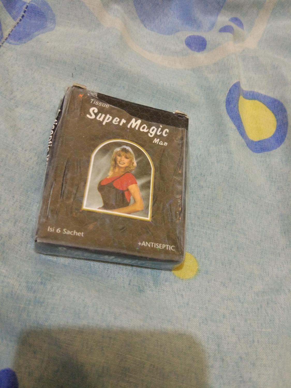Jual Tisu Magic Original Sachet Isi 6 Obat Kuat Harga Rp 8100 1 Box Tissue I