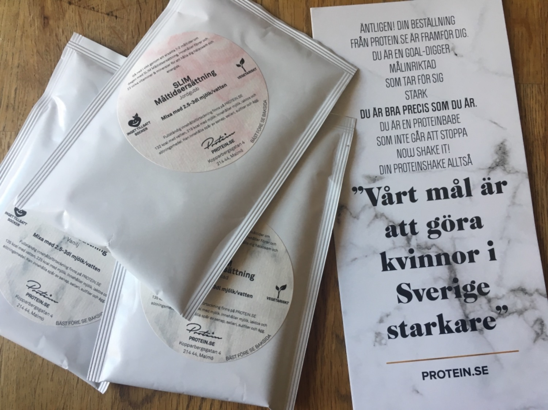 proteinpulver smakprov