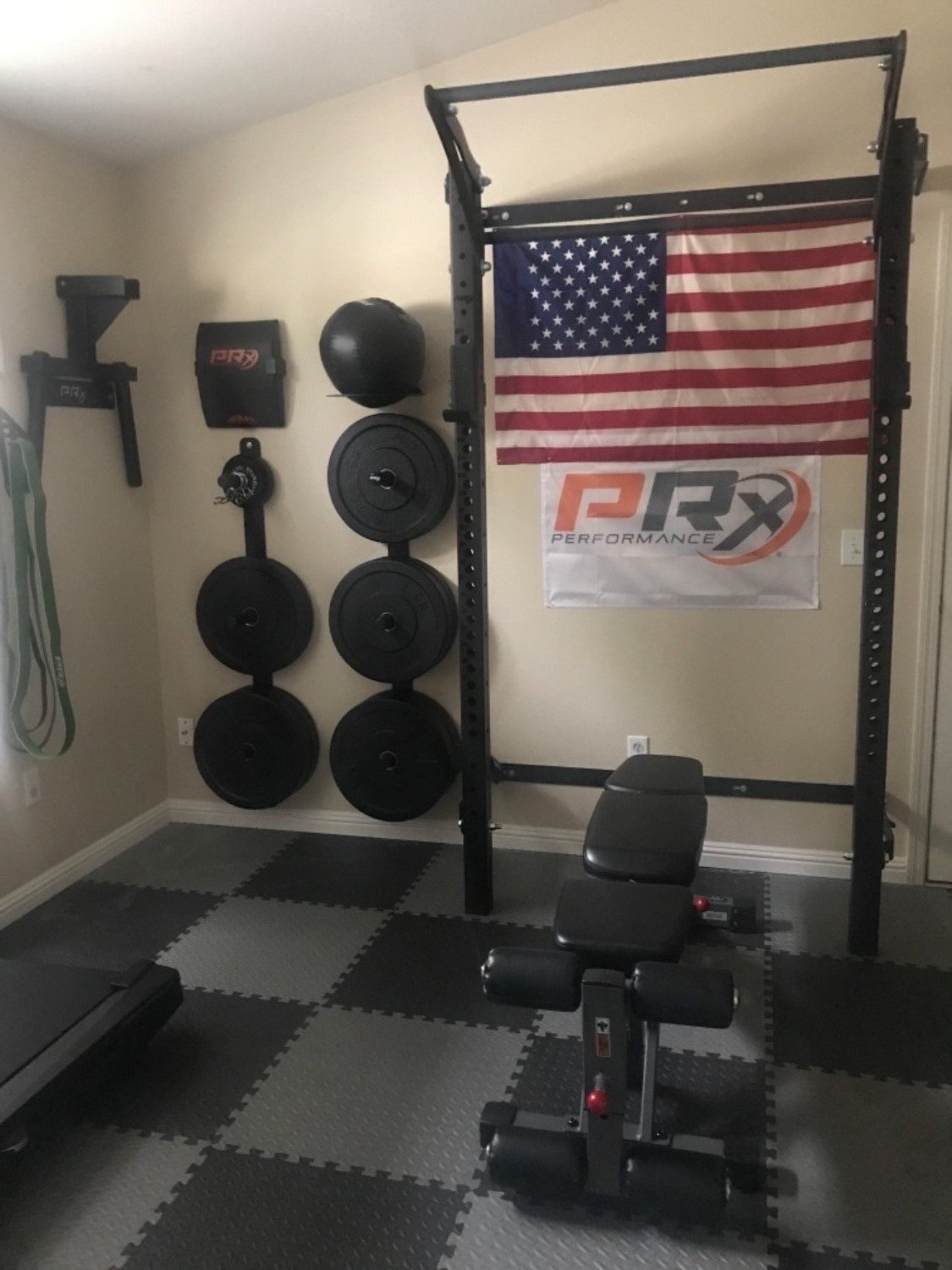 Men s profile pro package complete home gym prx