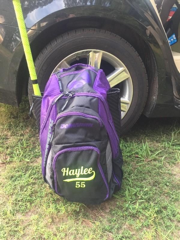 Purple Baseball & Softball Kleidung DeMarini Voodoo Rebirth Backpack WTD9105