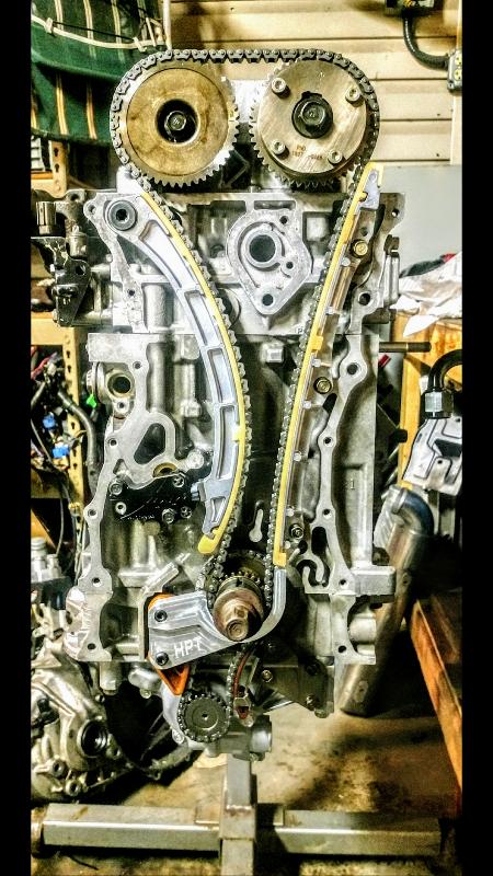 hybrid racing k series timing chain tensioner