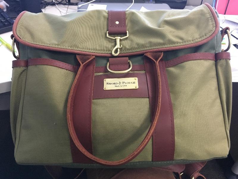 ef6f50bb7b67f Katherine S. verified customer review of Green Signature Messenger Bag