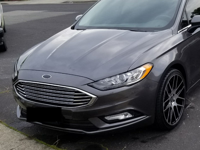 Black Ford Emblem Fusion >> 2013 2018 Fusion Carbon Fiber Ford Logo Oval Overlays Free Shipping