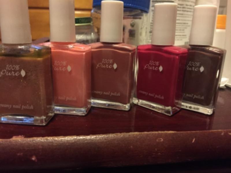 100 pure nail polish review