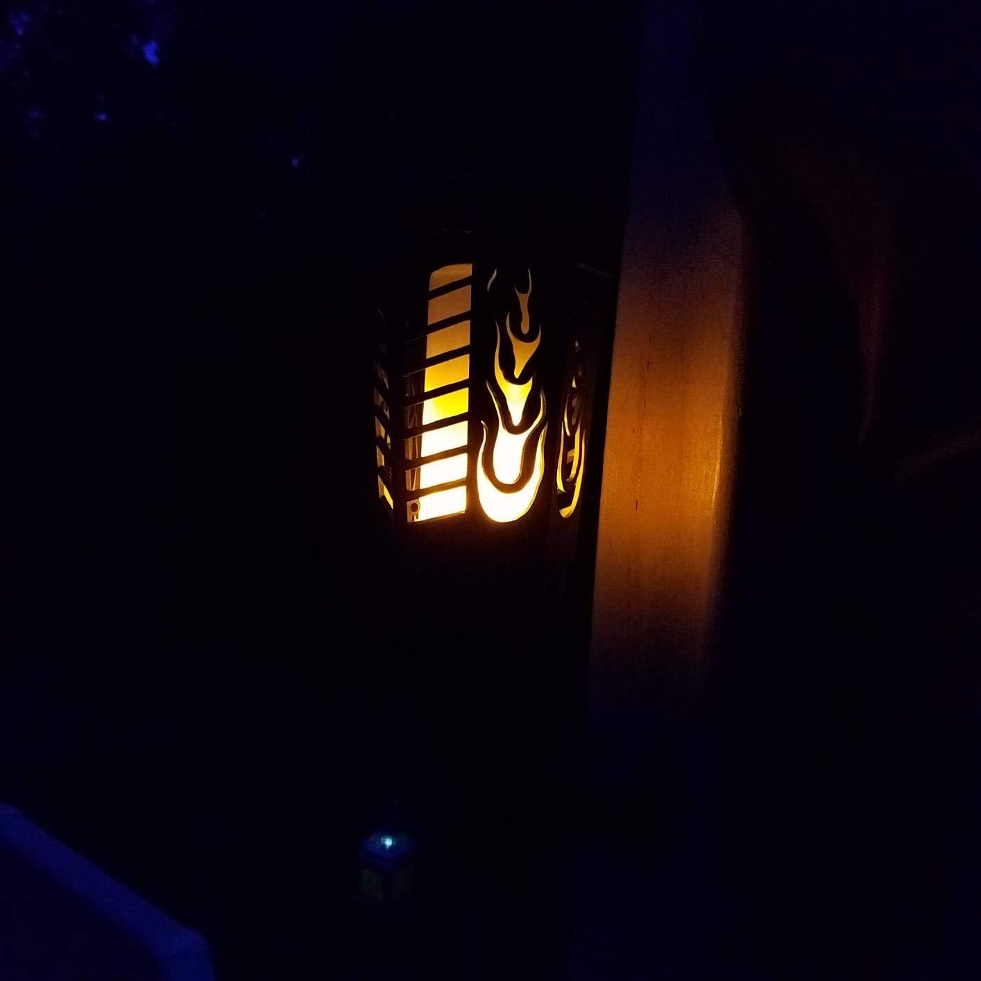 Torches Solaires Flamme Scintillante - Lampe Solaire Toulouse – Trendszy
